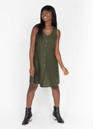 Peppermint Button Up Dress