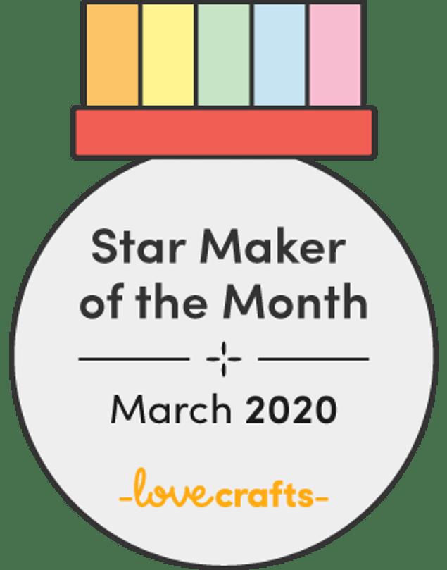 Love Crafts Star Maker Winner